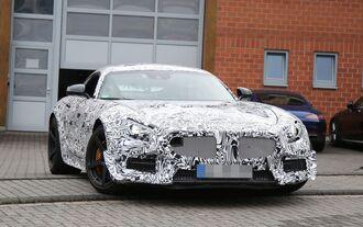 Erlkönig Mercedes-AMG GT GT3