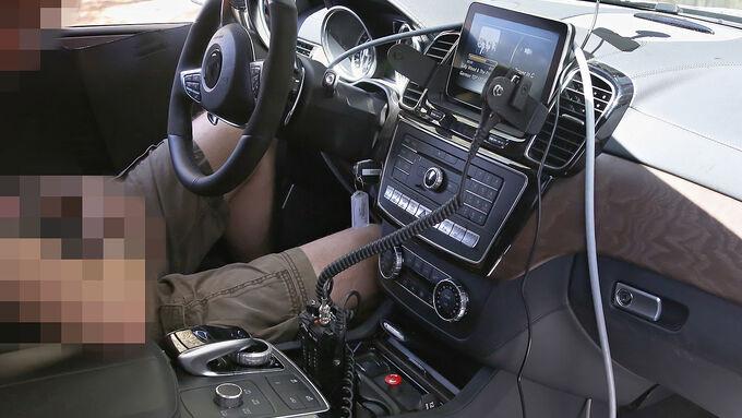 Erlkönig Mercedes GLE