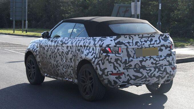 Erlkönig Range Rover Evoque Cabrio