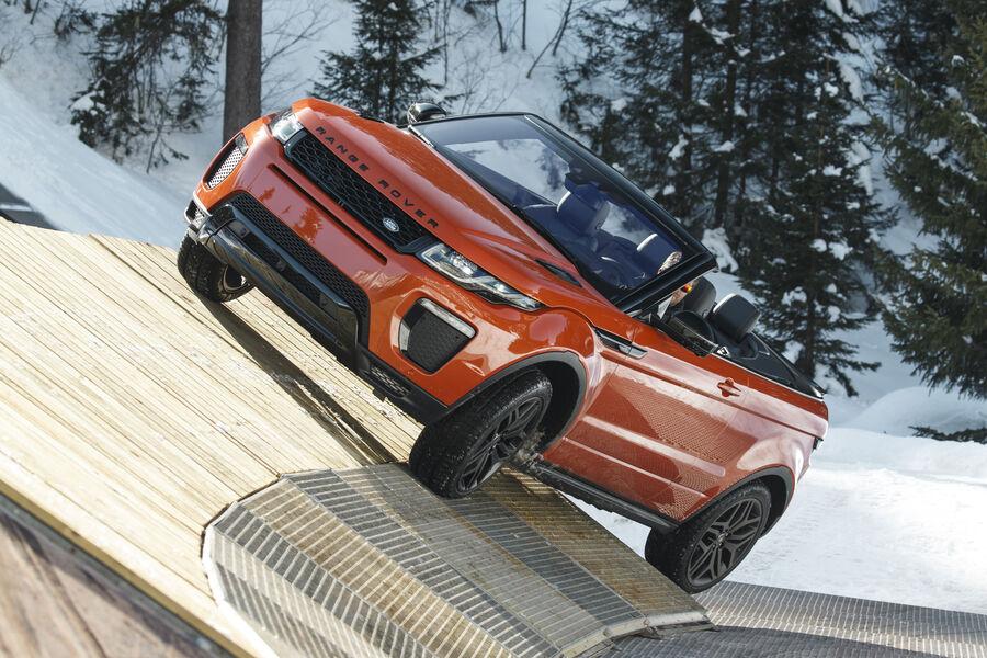 range rover evoque cabrio fahrbericht 2016 auto motor und sport. Black Bedroom Furniture Sets. Home Design Ideas