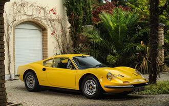 Elton Johns Ferrari Dino zu verkaufen