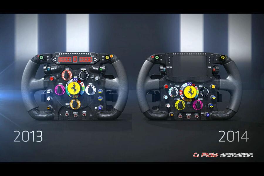 Ferrari f1 lenkrad