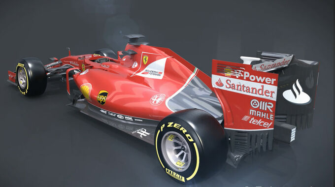 F1 Technik: Ferrari SF15-T - Piola Animation - 2015