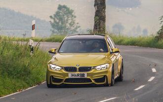 Fahrwerksentwicklung, BMW M3, Sportfahrwerk
