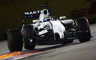 Felipe Massa - Williams - Formel 1 - GP Singapur - 19. September 2014