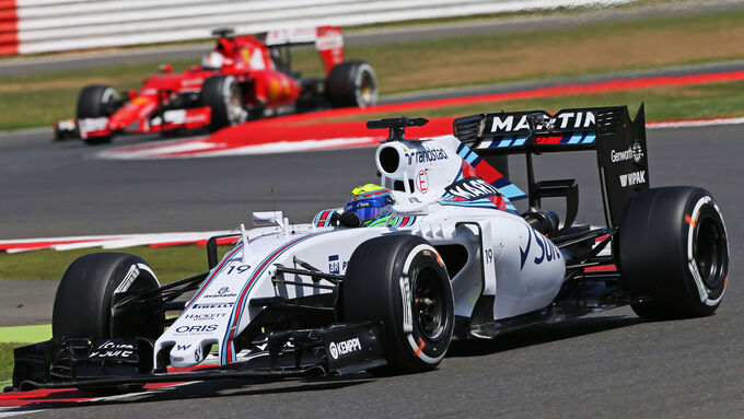 Williams schlägt Ferrari