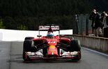 Fernando Alonso - Ferrari - Formel 1 - GP Belgien - Spa-Francorchamps - 23. November 2014
