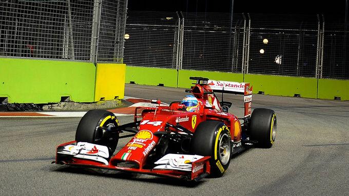 Licht und Schatten bei Ferrari