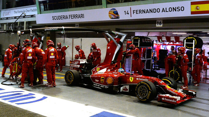 Safety-Car betrügt Ferrari