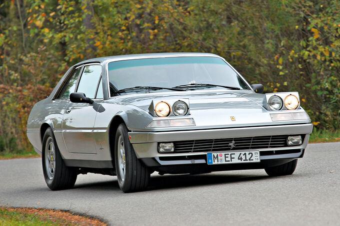 Ferrari 365 GT4 2 + 2, 400 GT, Frontansicht