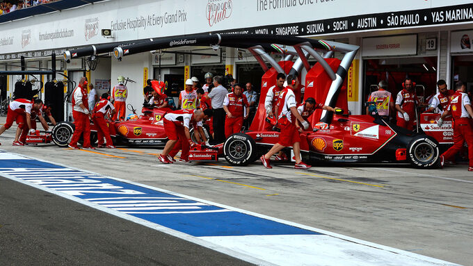 Exklusiv aus der Ferrari-Box