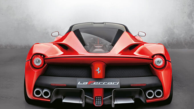 Ferrari LaFerrari, Heckansicht