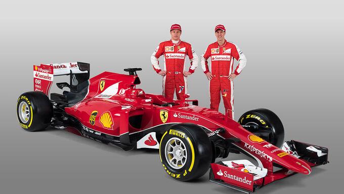 Ferrari SF15-T für 2015