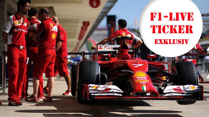 Ferrari - Ticker Teaser - GP USA 2014