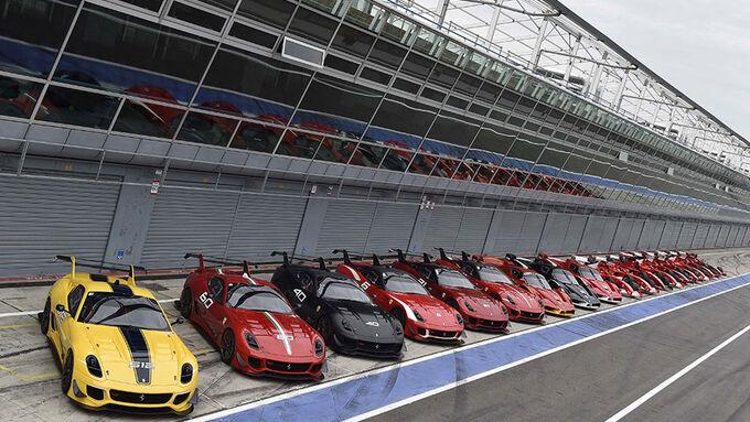 Ferrari XX range - Ferrari FXX - Ferrari 599XX