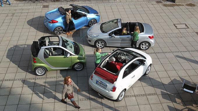 cabrios unter euro offene kleinwagen f r gro en. Black Bedroom Furniture Sets. Home Design Ideas