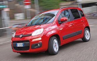 Fiat Panda 1.2 8V, Frontansicht