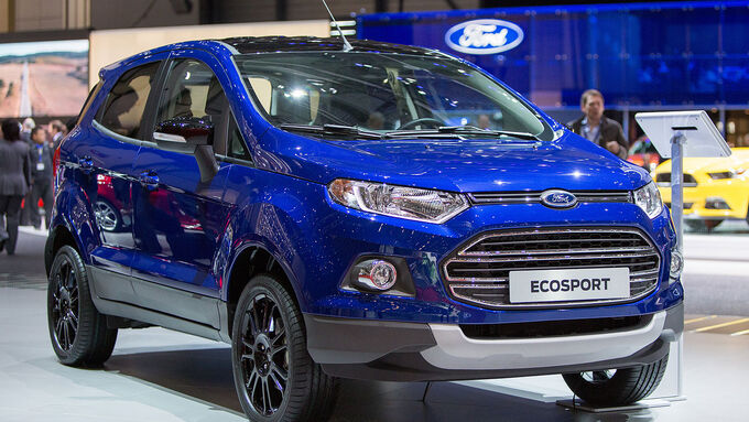 Ford Ecosport S Concept Genf 2015