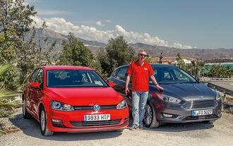 Ford Focus, VW Golf, Bernd Stegemann
