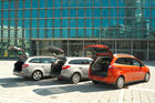Ford Mondeo, Ford Focus Turnier, Ford Grand C-Max, Kofferraumklappe