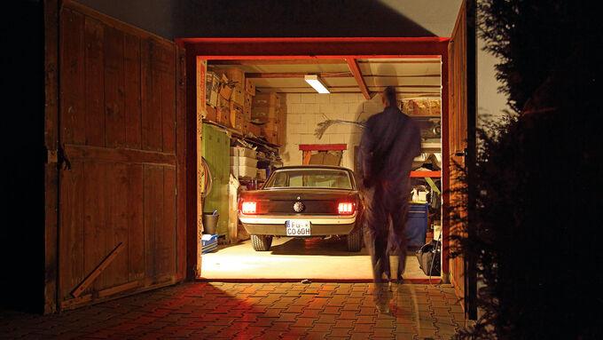 Ford Mustang, Frontscheibe, Dani Heyne