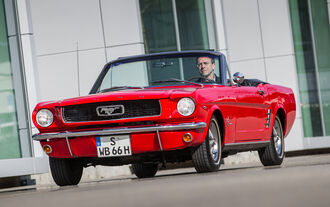 Ford Mustang I, Frontansicht
