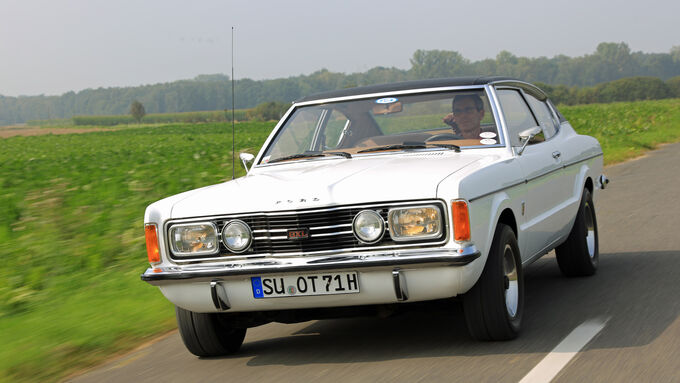 Ford Taunus TC, Frontansicht