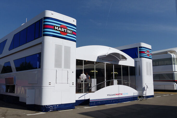 Formel 1 - GP Barcelona 2014 - Motorhomes - Williams Martini