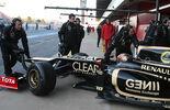 Formel 1-Test, Barcelona, 21.2.2012, Romain Grosjean, Lotus