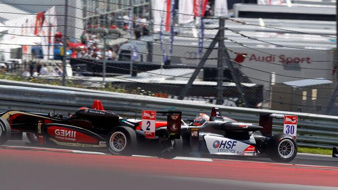 Formel 3 - Österreich 2014 - Spielberg - Red Bull Ring - Rennen 1 - Max Verstappen - Esteban Ocon