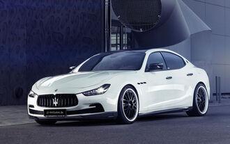GS Exclusive Maserati Ghibli Evo
