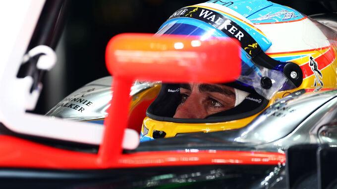 McLaren-Duo ganz hinten