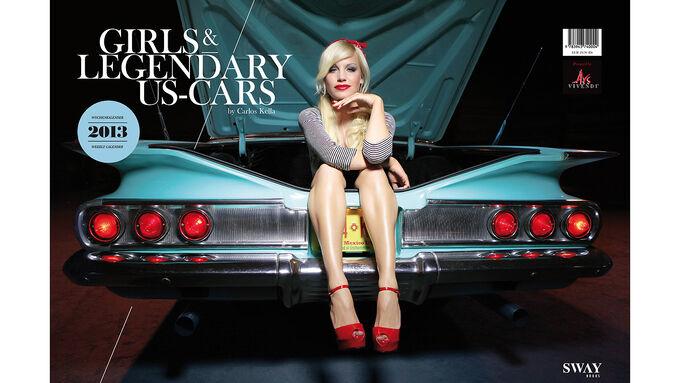 Girls  legendary US-Cars 2013 Wochenkalender