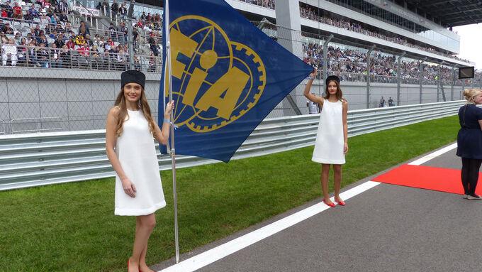 Grid Girls - GP Russland 2015 - Sochi