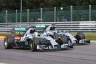 Weiter keine Stallregie bei Mercedes