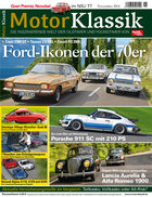 Hefttitel 11/2014 Motor Klassik