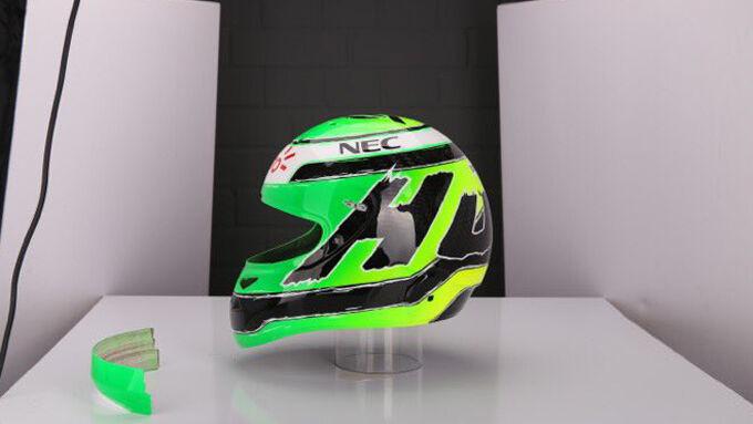 Neuer Hülkenberg-Helm