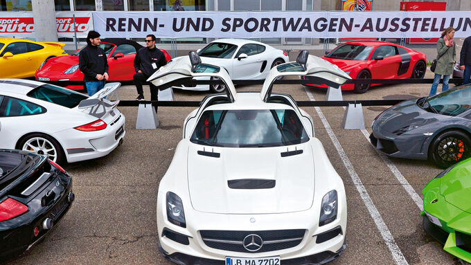 High Performance Days, Sportwagenausstellung