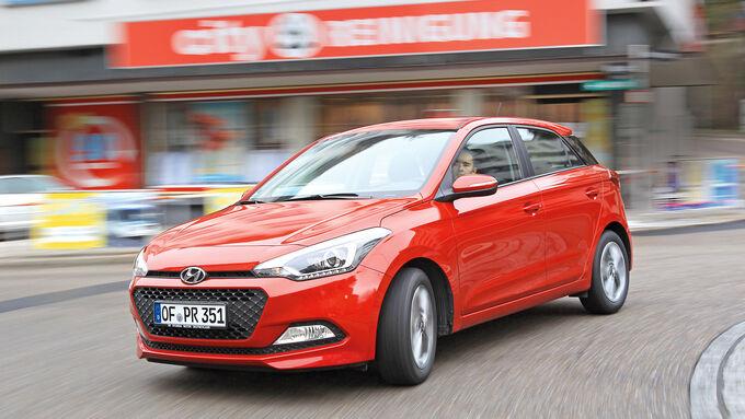 Hyundai i20 1.2, Front view
