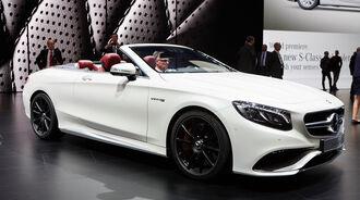 IAA 2015, Mercedes-AMG S63 Cabriolet