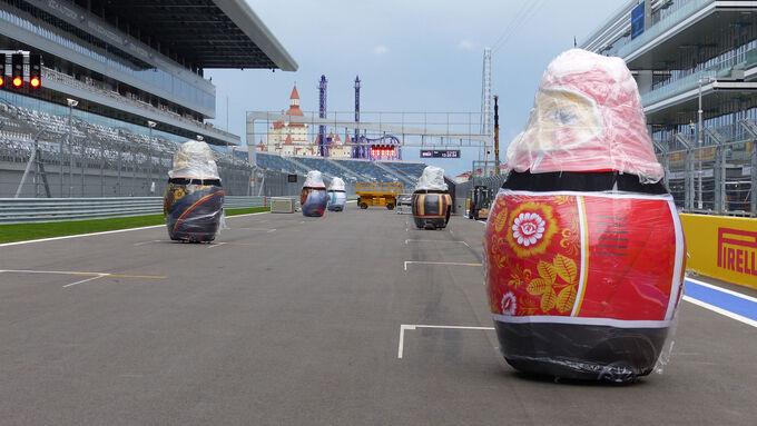 Fotos GP Russland (Mittwoch)