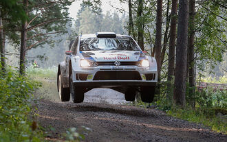 Jari-Matti Latvala - Rallye Finnland 2014