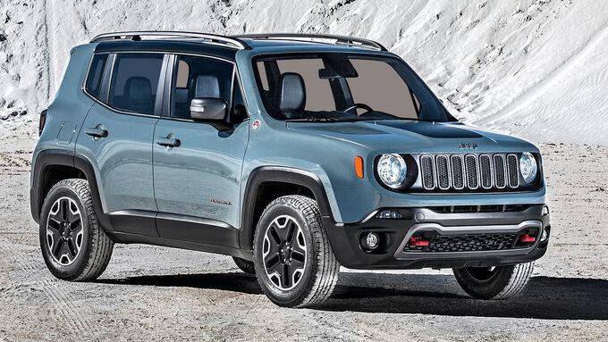 Jeep Renegade, Seitenansicht