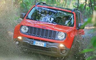 Kleiner Jeep ganz groß