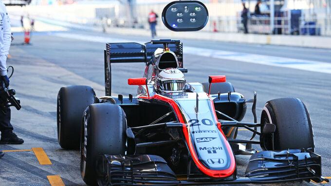 Magnussen ersetzt Alonso