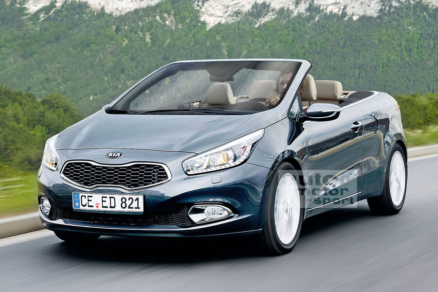 kia ceed kommt als cabrio offener ceed startet 2014 auto motor und sport. Black Bedroom Furniture Sets. Home Design Ideas