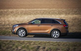 Kia Sorento Road Test 0115