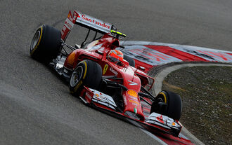 Kimi Räikkönen - GP China 2014