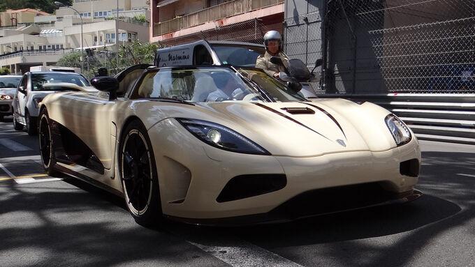 Koenigsegg Agera - GP Monaco 2012