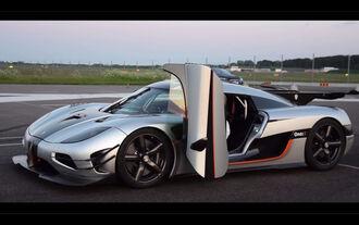 Koenigsegg One:1, 0-300-0-Rekord